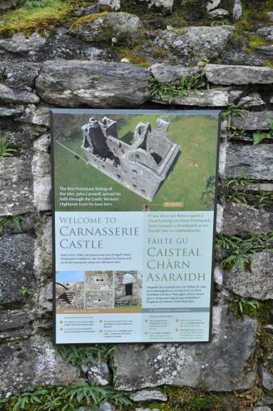Carnasserie Castle, Kilmartin, Scotland, UK
