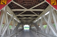 covered bridge, union county, ohio