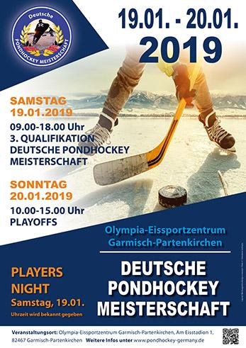 3. Pondhockey Qualifikation Garmisch-Partenkirchen