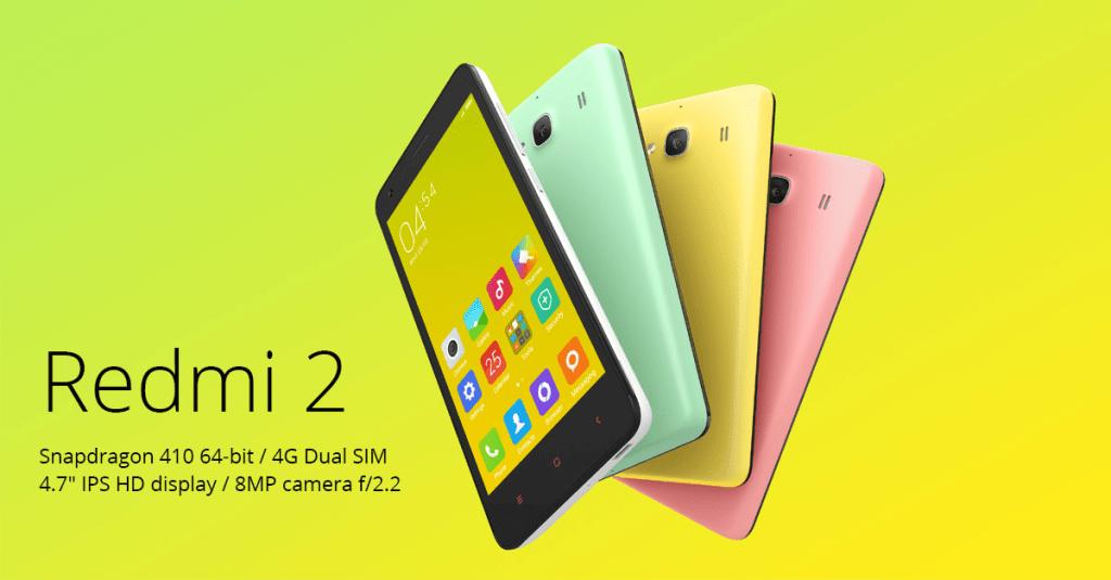 Redmi 2 - Rekomendasi Android 4G LTE Harga 1 Jutaan
