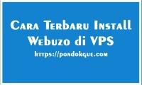 Cara Terbaru Install Webuzo di VPS