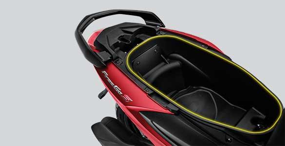 Bagasi Yamaha Freego S | Image Source: Website Resmi Yamaha