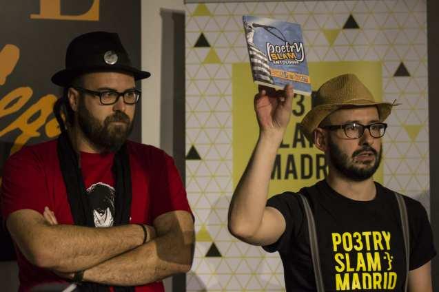 David Trashumante y Pablo Cortina   Poetry Slam especial por el Día Mundial de la Poesía 2014   Casa Museo Lope de Vega   21 de marzo de 2014