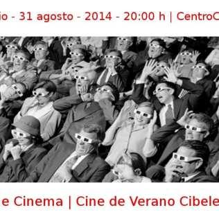 09 julio - 31 agosto - 2014 - 20:00 h | CentroCentro Cibeles | The Cinema - Cine de Verano Cibeles | Veranos de la Villa 2014 | Madrid