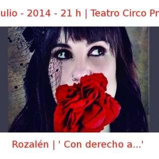 16 julio - 2014 - 21:00 h | Teatro Circo Price | Rozalén - 'Con derecho a...' | Veranos de la Villa 2014 | Madrid