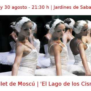 29 y 30 agosto - 2014 - 21:30 h | Jardines de Sabatini | Ballet de Moscú - 'El Lago de los Cisnes' | Veranos de la Villa 2014 - Madrid