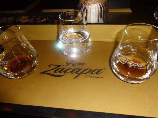 Zacapa Room   Un viaje sensorial al universo del ron Zacapa   Hasta 02-10-2014   Copas de la cata premium