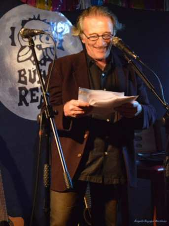 30º Aniversario de la Sala Búho Real de Madrid | Emilio Linder y su 'Poesía sin recortes' | CC Ángela Sayago Martínez