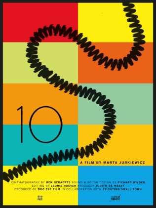 Cartel '10' de Marta Jurkiewicz | Holanda 2014 | Segundo Premio del Jurado Cortometraje Internacional | DocumentaMadrid 2015