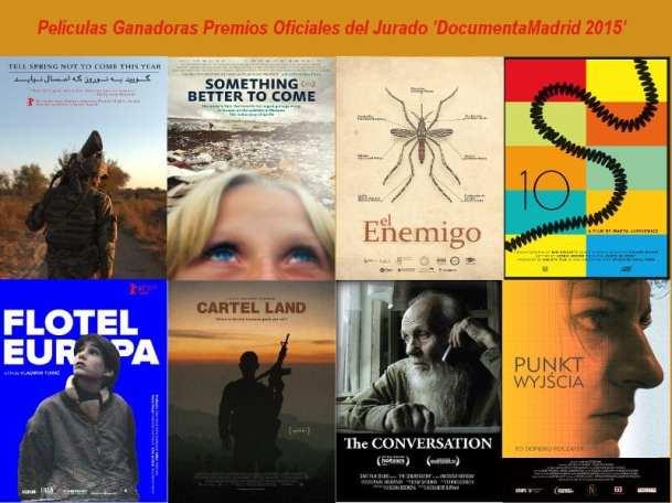 Carteles | Películas ganadoras | Premios Oficiales del Jurado | DocumentaMadrid 2015