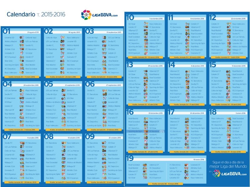 As Calendario Liga 123.Calendario Liga 123 Santander