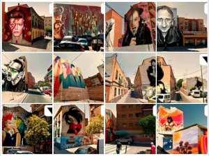Paseo de la Música   12 fotomontajes ValleKarte   Puente de Vallecas   Madrid