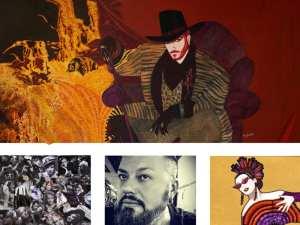 1er Festival Internacional NU-CA   Fernán Gómez-Centro Cultural de la Villa   Madrid   03 al 13/05/2018   Exposición 'Diosxs, Teatrerxs, Cabareterxs' de Fran Gonari