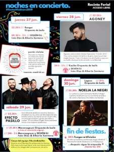 Fiestas de Vicálvaro 2019 | 27-30/06/2019 | Vicálvaro | Madrid | Noches en Concierto