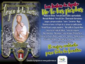 Fiestas de Agosto 2019 | Virgen de La Jarosa | Guadarrama | Comunidad de Madrid | 27/07-01/09/2019