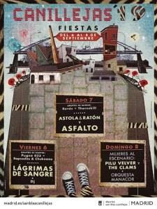Fiestas de Canillejas 2019 | San Blas-Canillejas | Madrid | 06-08/09/2019 | Cartel