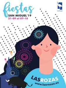 Fiestas de Las Rozas 2019 | San Miguel Arcángel | 21/09-07/10/2019 | Las Rozas | Comunidad de Madrid | Cartel