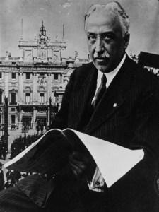 Niceto Alcalá Zamora y Torres | Presidente de la Segunda República Española | 1931 | Agence de Presse Meurisse