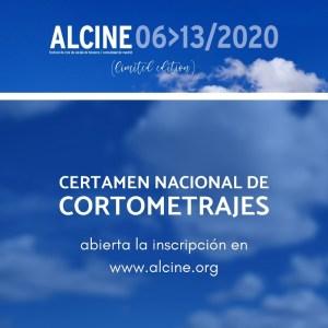 ALCINE 2020 (limited edition) | 6-13/11/2020 | Abierta inscripción Certamen Nacional de Cortometrajes