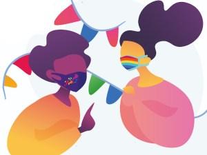 MADO 2020 | Madrid Orgullo | Orgullo Estatal LGTBI | 1-5/07/2020 | Chueca (Madrid) | Con mascarilla