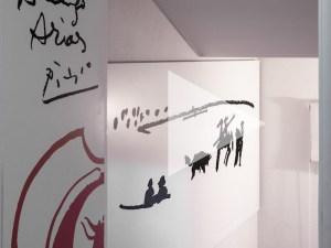 Museo Picasso - Colección Eugenio Arias | Puerta de entrada con detalles taurinos | Buitrago del Lozoya | Comunidad de Madrid | Foto Amador Toril