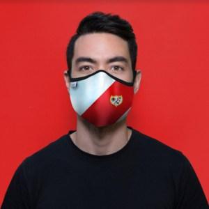 Proyecto de mascarilla personalizada para el Rayo Vallecano de Madrid