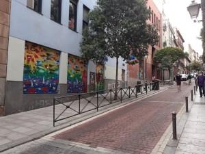 7 colegios de Centro cuentan ya con un acceso más seguro | Escuela Infantil El Olivar y CC Lavapiés | Calle del Olivar | Lavapiés