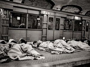 Libro Madrid. Retrato de una ciudad | La Librería (2020) | Refugiados en el Metro | Alfonso (1939)