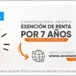 Convocatoria a empresas de Economía Naranja para acceder a exención de renta por siete años.