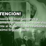 @SSociedades, Instrucciones y recomendaciones a los supervisados frente al desarrollo de reuniones de¡ máximo órgano social.