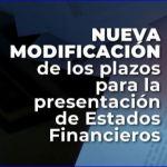 Nuevamente Supersociedades modifica calendarios para presentación de estados financieros e informes empresariales.