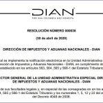 Mediante esta Resolución se implementa la notificación electrónica en la Unidad Administrativa Especial – DIAN
