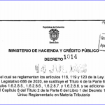 Comités de conciliación y defensa judicial de la U.A.E. Dirección de Impuestos y Aduanas Nacionales -DIAN.