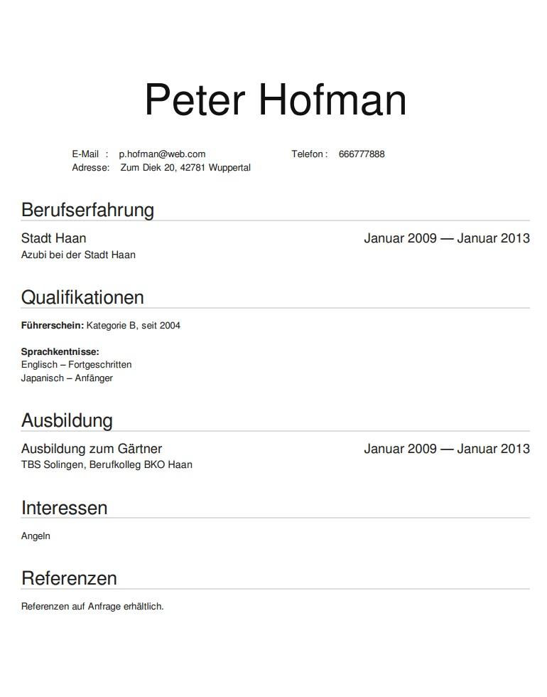 Cv Po Niemiecku Wzór Przykłady Zasady Pisania Po Niemiecku