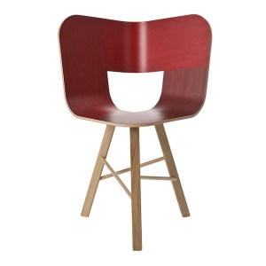 Chaise, Colé Italian Design Label — Rouge Bordeaux