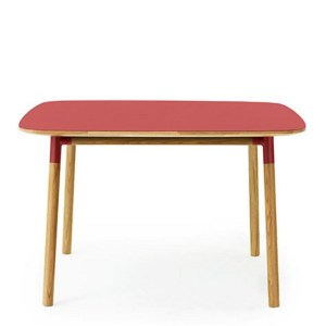 Table, Normann Copenhagen — Rouge Coquelicot