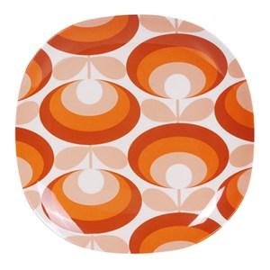 Assiette, Orla Kiely — Orange Citrouille, Ponio