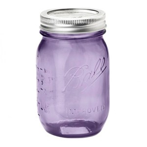 Bocal, Ball Mason Jar — Violet Lilas, Ponio
