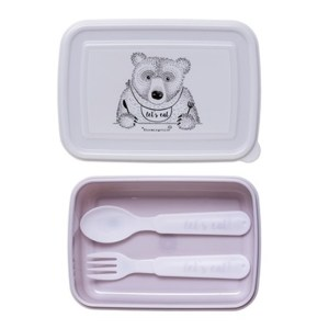 Lunch Box, Bloomingville — Violet Lilas, Ponio