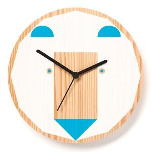 Horloge Ours, Paul Farrell — Bleu Turquoise, Ponio