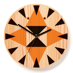 Horloge, Paul Farrell — Orange Citrouille, Ponio