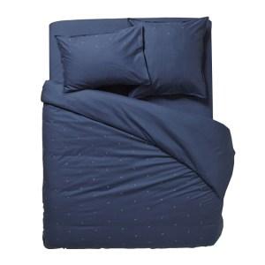 Housse de Couette, Cyrillus — Bleu Nuit, Ponio