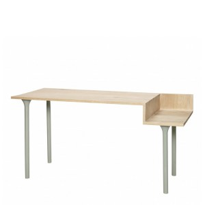 Bureau, Hübsch — Vert Amande, Ponio