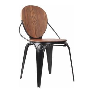 Chaise, Zuiver — Bois Foncé, Ponio