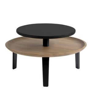 Table Basse, Colé Italian Design Label — Bois Foncé, Ponio