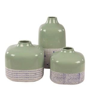 Vases, Broste Copenhagen — Vert Amande, Ponio