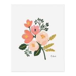 Affiche, Buk & Nola — Orange Corail, Ponio