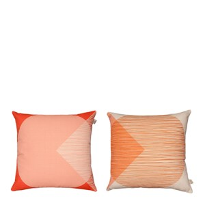 Coussins, Orla Kiely — Orange Corail, Ponio
