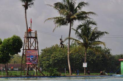 Hiburan di Gebyar Seni dan Budaya Desa Wisata Ponjong 2012