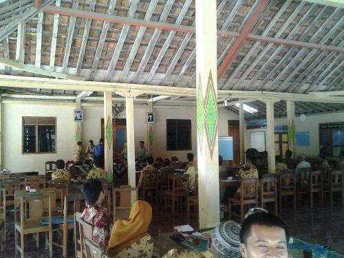 Rapat Gapoktan Desa Ponjong